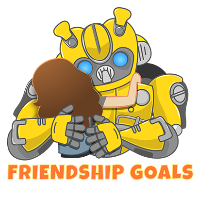 Official Bumblebee Stickers messages sticker-1