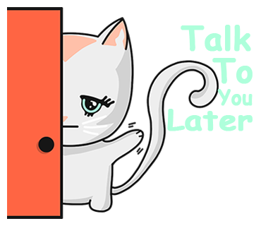 Chabby Cat messages sticker-1