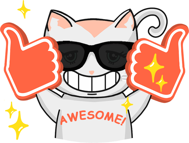Chabby Cat messages sticker-8