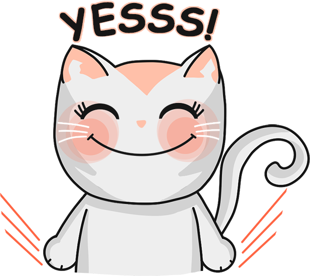 Chabby Cat messages sticker-5