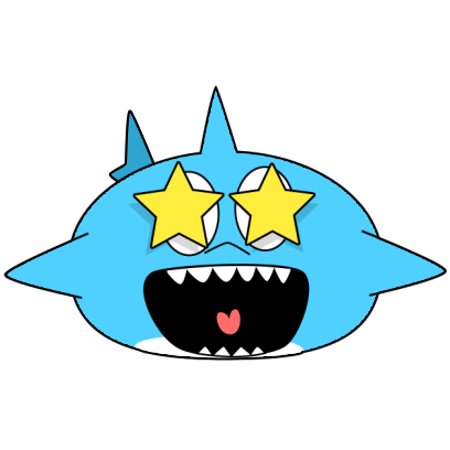 Animated Shark Stickers messages sticker-5