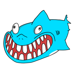 Animated Shark Stickers messages sticker-4
