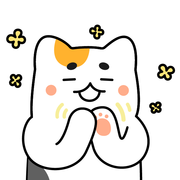Nyamoonee's daily life Sticker messages sticker-1