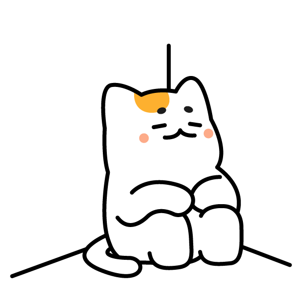 Nyamoonee's daily life Sticker messages sticker-11