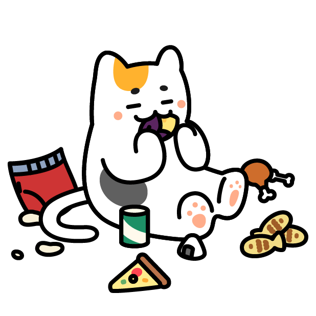 Nyamoonee's daily life Sticker messages sticker-0