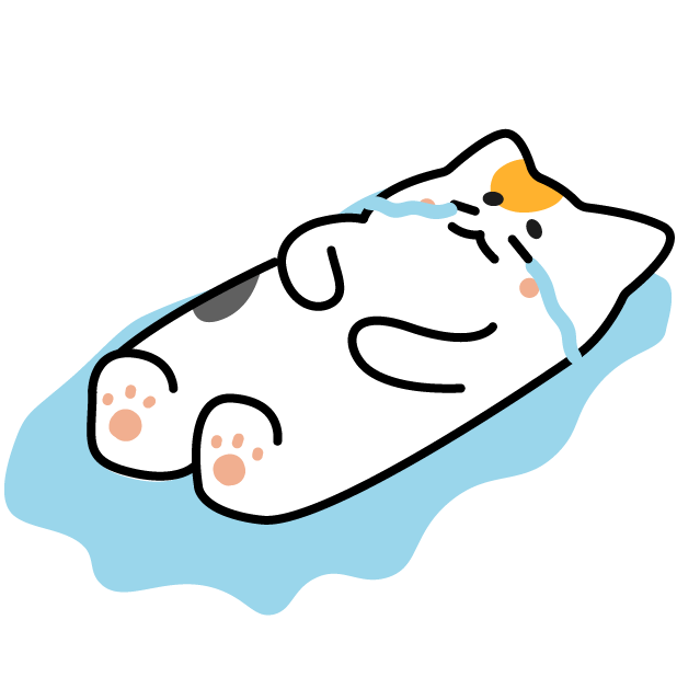 Nyamoonee's daily life Sticker messages sticker-2