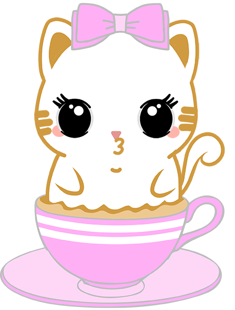 Caramel Kitty Cappuccino messages sticker-10