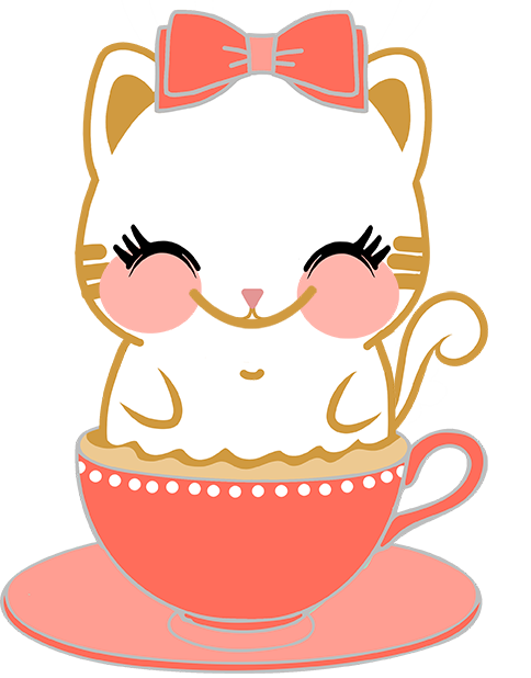 Caramel Kitty Cappuccino messages sticker-6