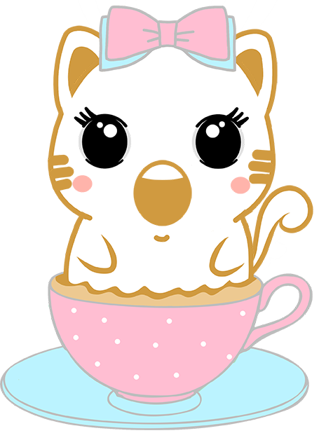 Caramel Kitty Cappuccino messages sticker-11