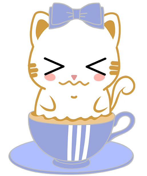 Caramel Kitty Cappuccino messages sticker-2