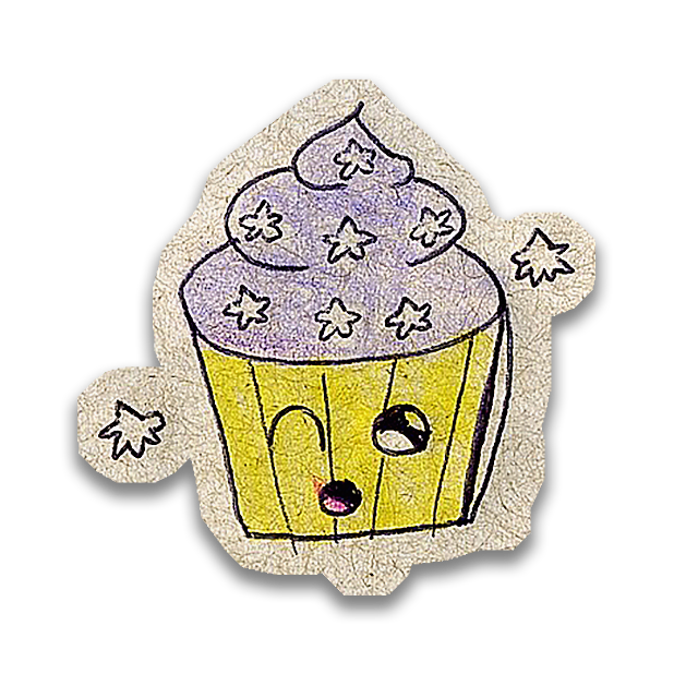 Kawaii! Say it with a Cupcake messages sticker-11