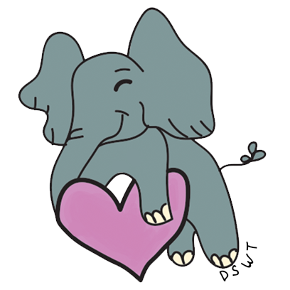 DSWT Baby Elephant Stickers messages sticker-2