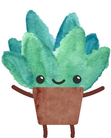 Happy Succulents messages sticker-6