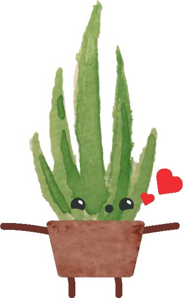 Happy Succulents messages sticker-1
