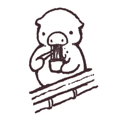 ゆるいブタの日常〈夏〉 messages sticker-8