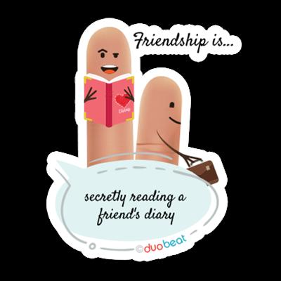 DuoBeat messages sticker-5