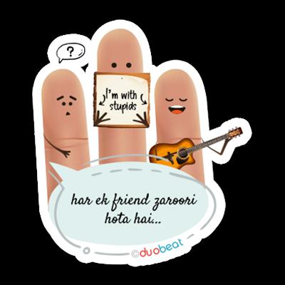 DuoBeat messages sticker-11