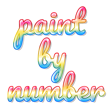 Paint by Number Coloring Games messages sticker-6