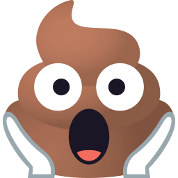 Pile of Poop Pack by EmojiOne messages sticker-10