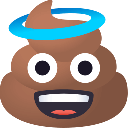 Pile of Poop Pack by EmojiOne messages sticker-3
