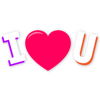 Love Sticker For iMessanger messages sticker-5