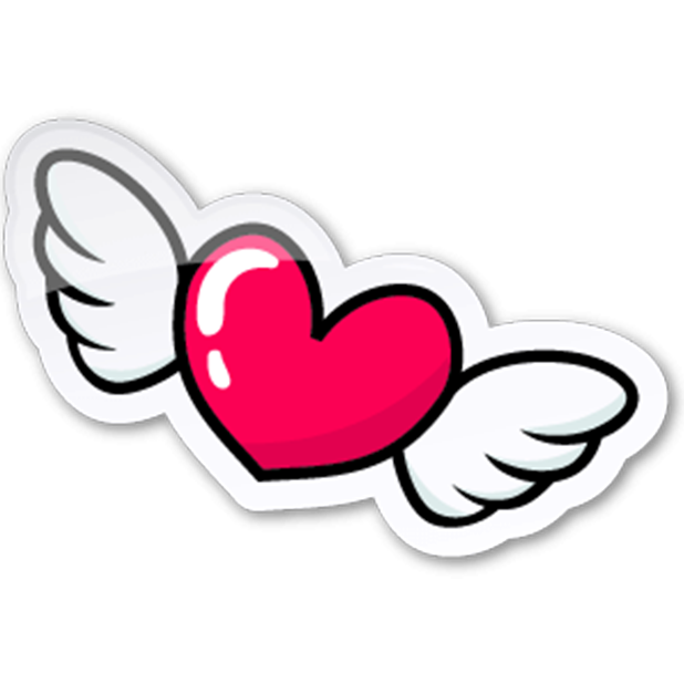 love you stickers messages sticker-7