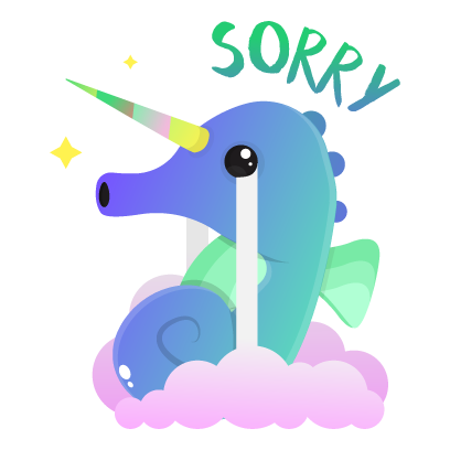 Wild Unicorn Animal Stickers messages sticker-5