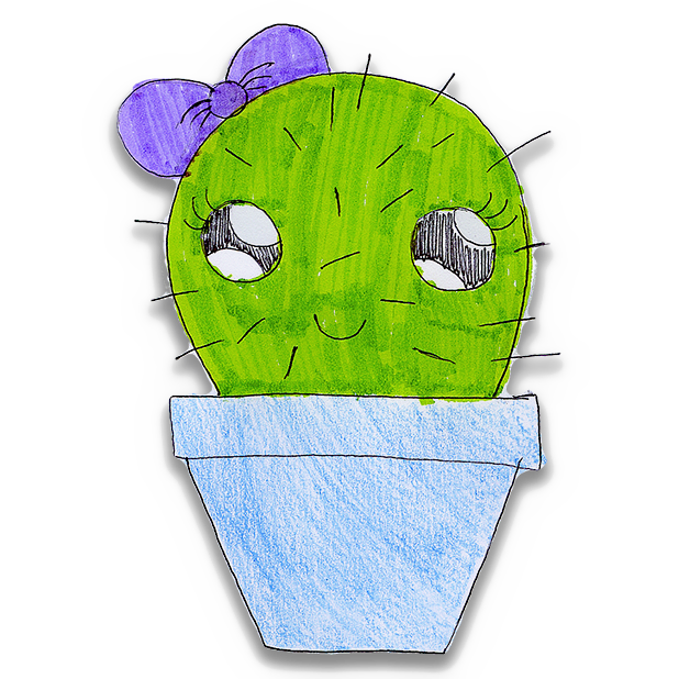 Kawaii! Cactus Stickers messages sticker-0