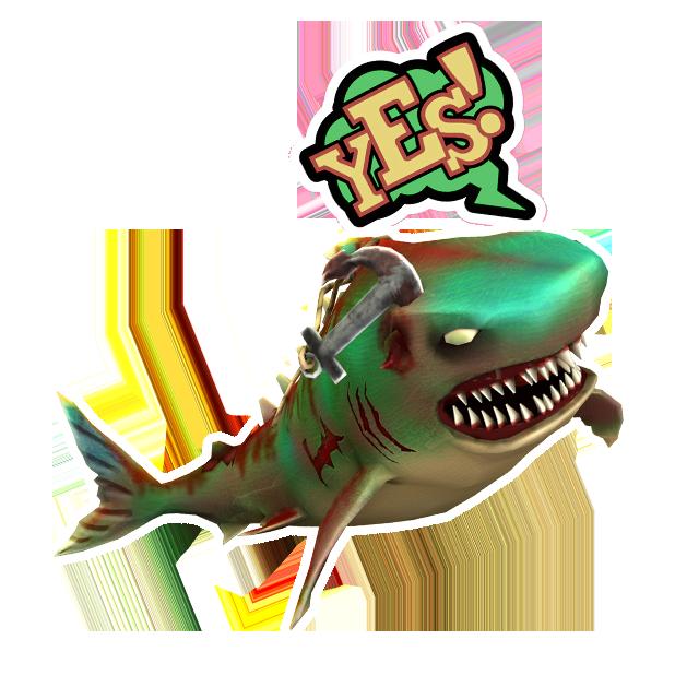 Double Head Shark Attack messages sticker-5
