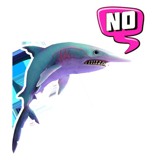 Double Head Shark Attack messages sticker-6