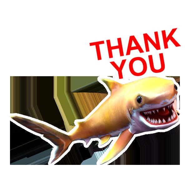 Double Head Shark Attack messages sticker-9
