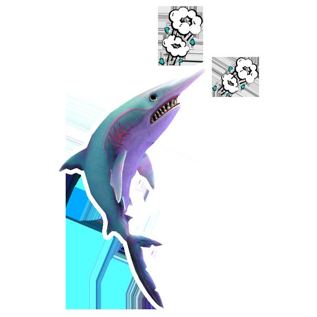 Double Head Shark Attack messages sticker-1