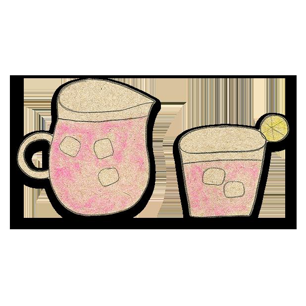 Kawaii! Coffee & Beverages messages sticker-10