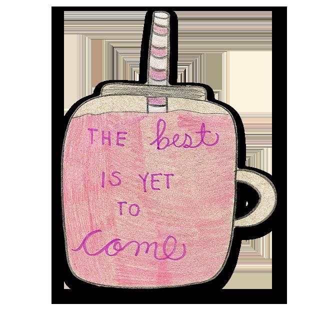 Kawaii! Coffee & Beverages messages sticker-9