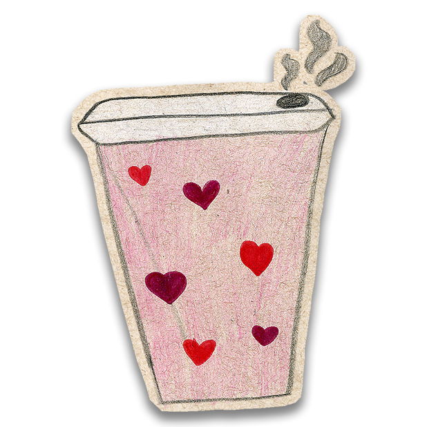 Kawaii! Coffee & Beverages messages sticker-6