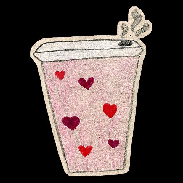 Kawaii! Coffee & Beverages messages sticker-6