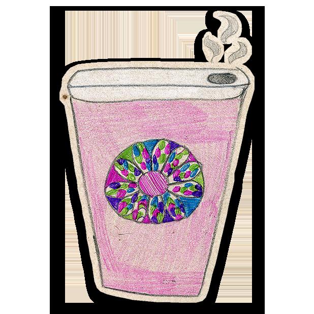 Kawaii! Coffee & Beverages messages sticker-2