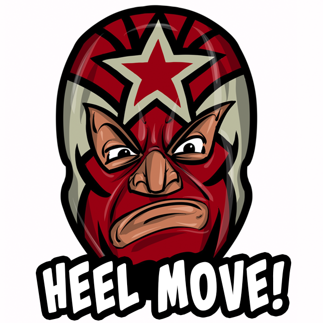 Expo Lucha Wrestlemojis messages sticker-11