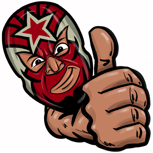 Expo Lucha Wrestlemojis messages sticker-5