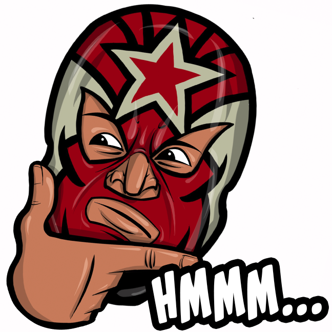 Expo Lucha Wrestlemojis messages sticker-4