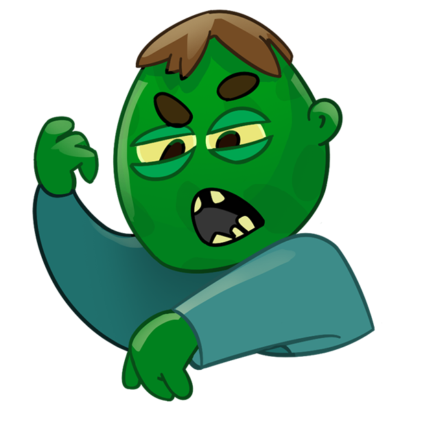 Zombie Haters messages sticker-2