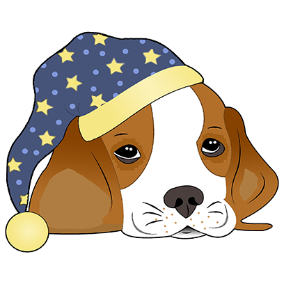 Beagle Bruno messages sticker-8