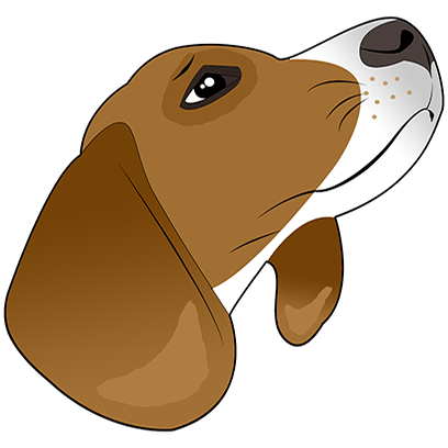 Beagle Bruno messages sticker-3