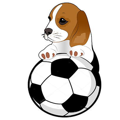 Beagle Bruno messages sticker-0