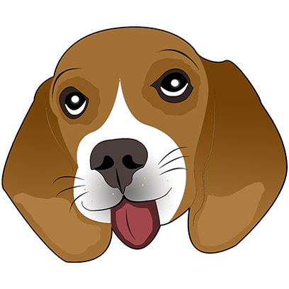 Beagle Bruno messages sticker-4