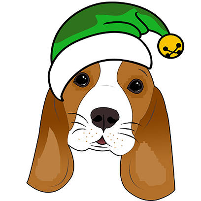Beagle Bruno messages sticker-5