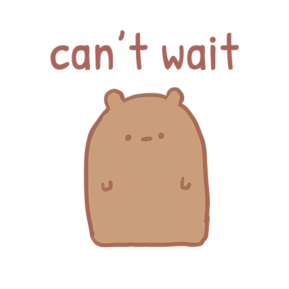 Blank Bear Stickers messages sticker-11