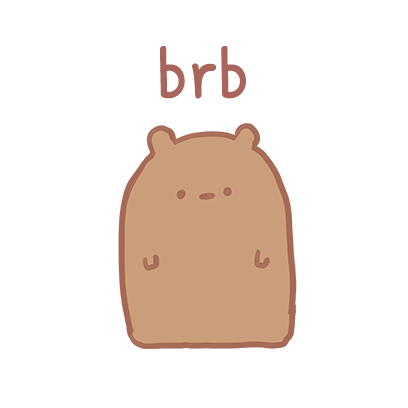 Blank Bear Stickers messages sticker-8
