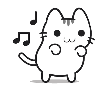 Emotional Cat Animated messages sticker-5