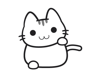 Emotional Cat Animated messages sticker-0